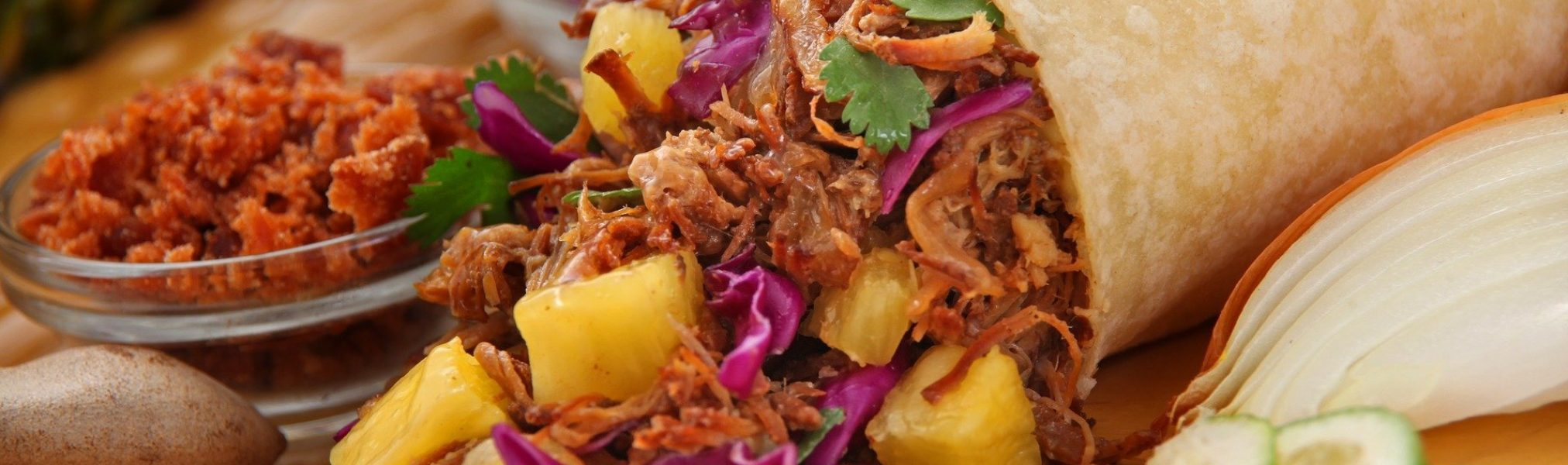 grilled-pineapple-pork-burrito-2944562_1920